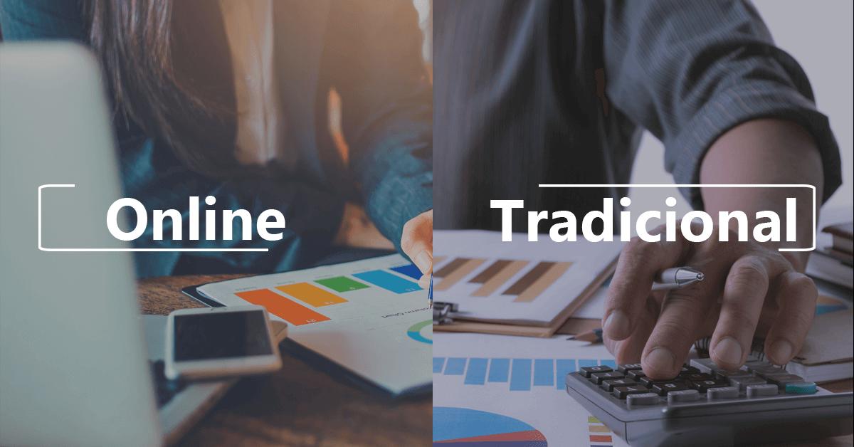 contabilidade online e contabilidade tradicional qual escolher
